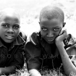 Handsome Ugandan children.